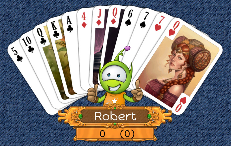 11 up card game free online